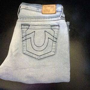 True Religion Geno Cut Off Shorts